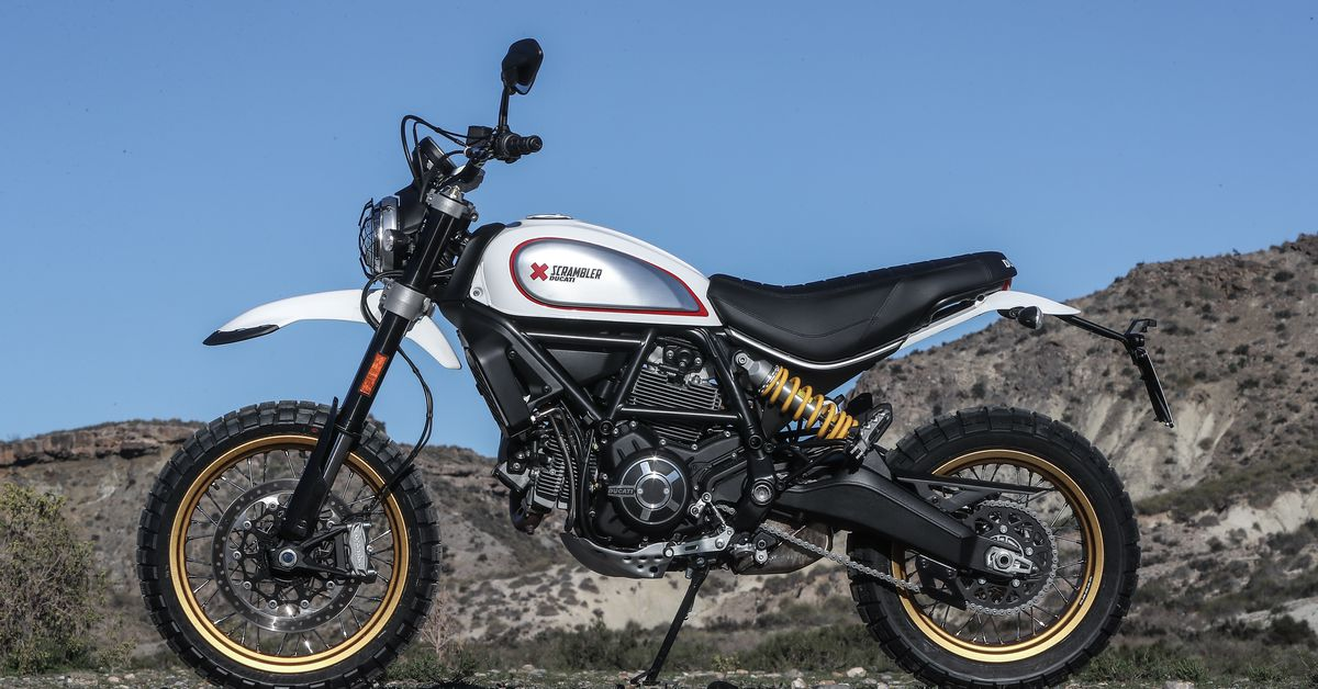 The 2017 Ducati Scrambler Desert Sled Will Exceed Your Expectations