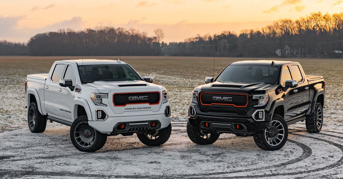 Harley-Davidson Teams Up With GMC For New Truck