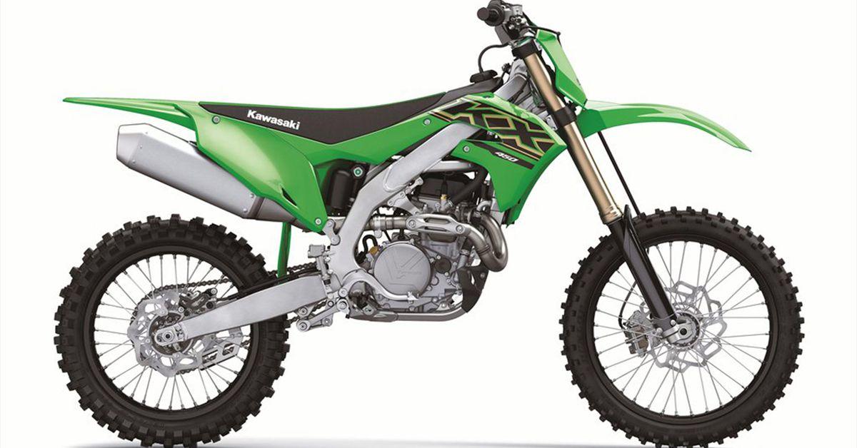 Kawasaki KX450 2021 года