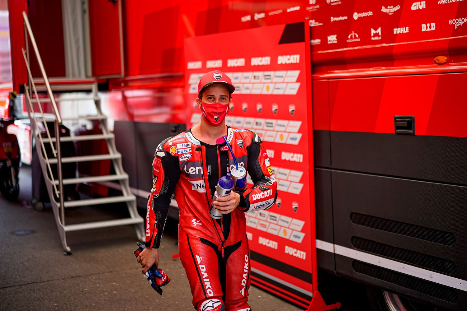 Although his departure has been announced, Dovizioso is committed to fighting for a championship.