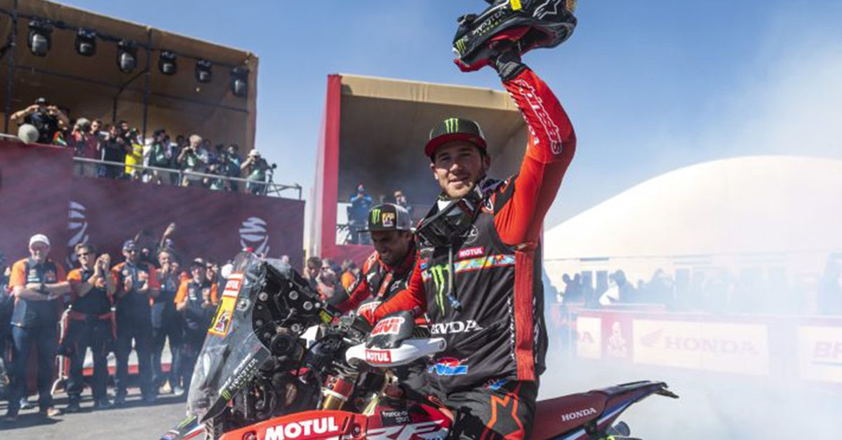 Ricky Brabec Is The First American To Win Dakar