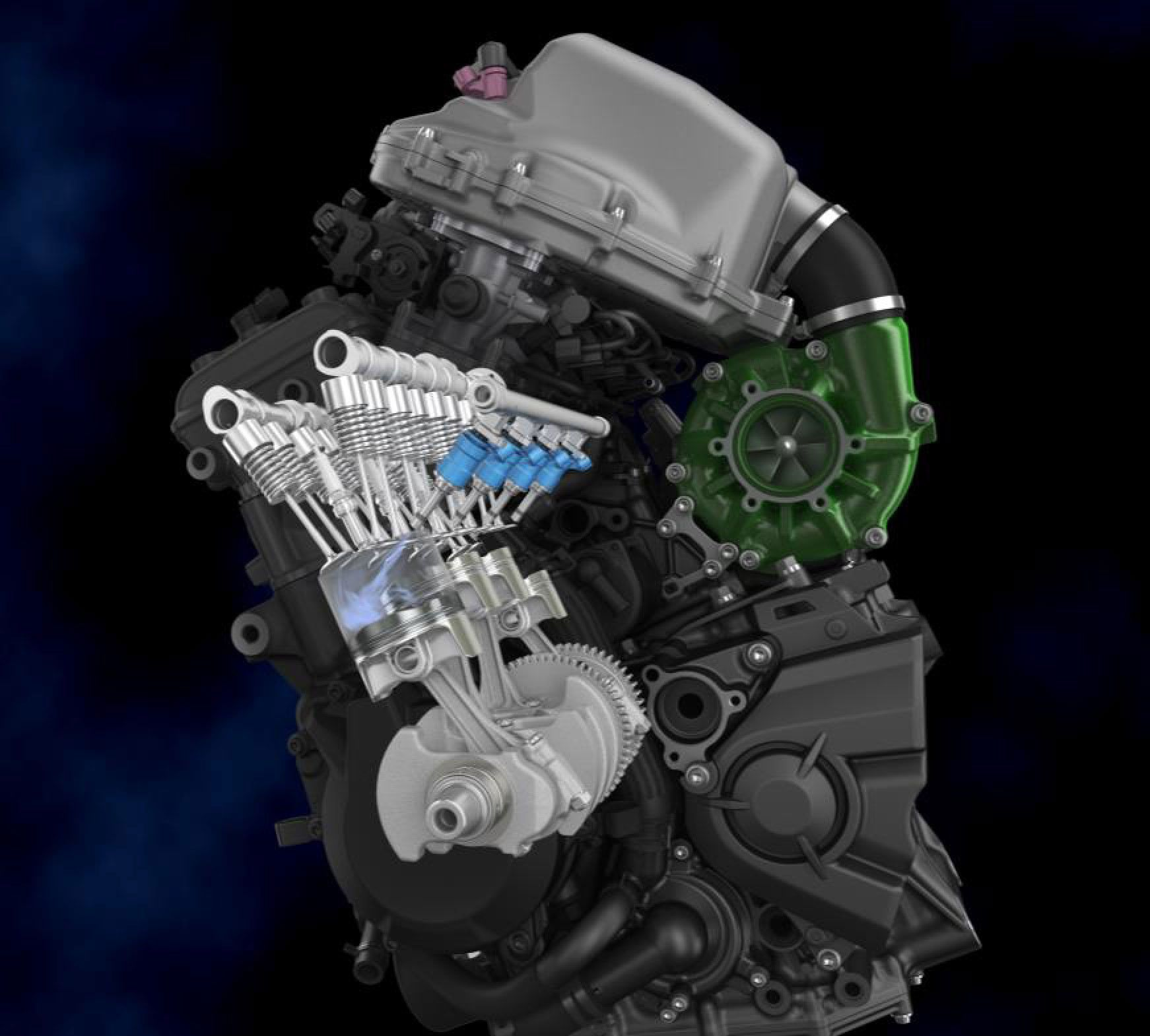 Direct injection helps reduce emissions, while port fuel injection gives more time for fuel to mix properly.