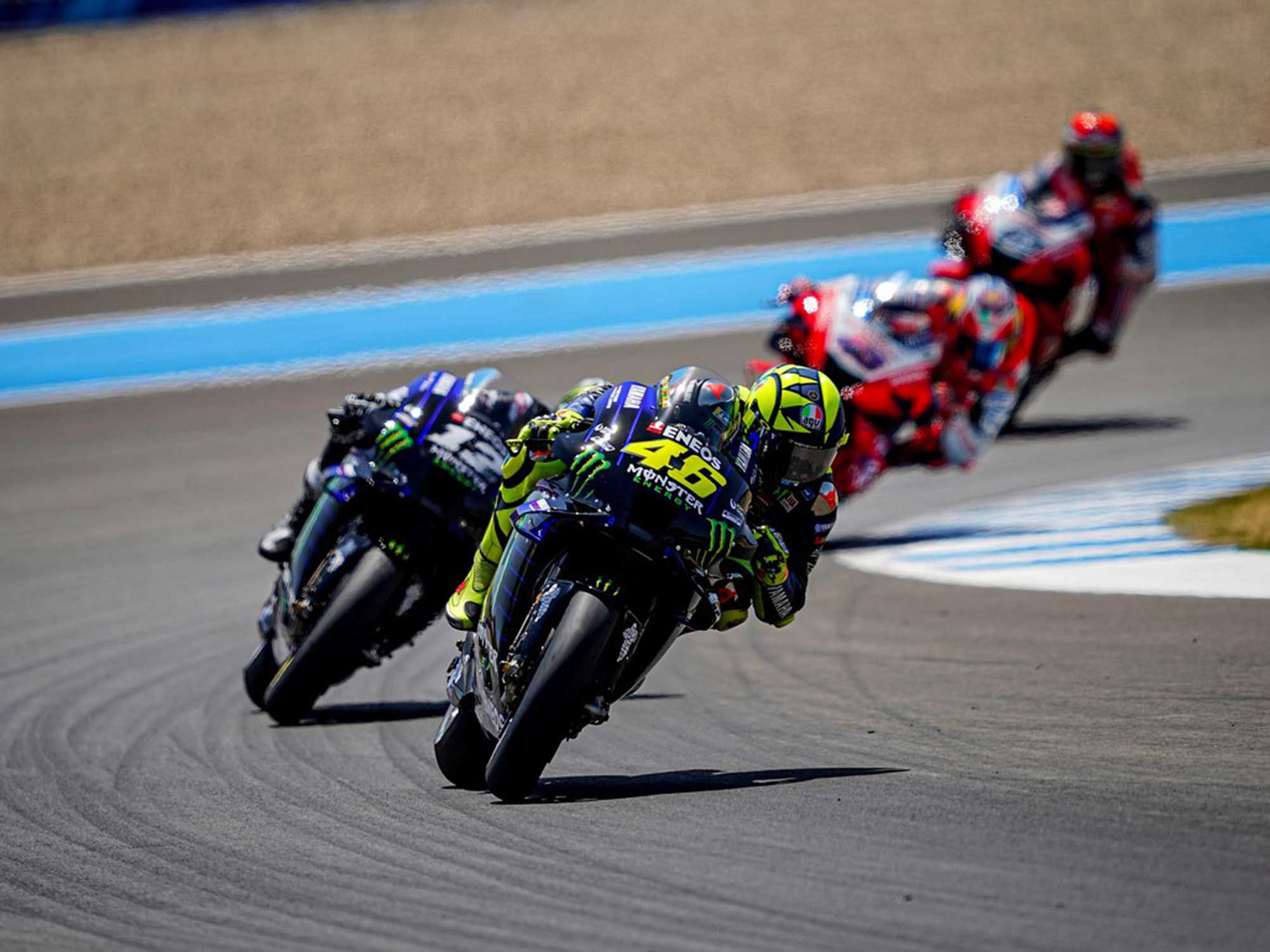 Rossi was frustrated with his bike's setup most of last season, with the troubles continuing into 2020.