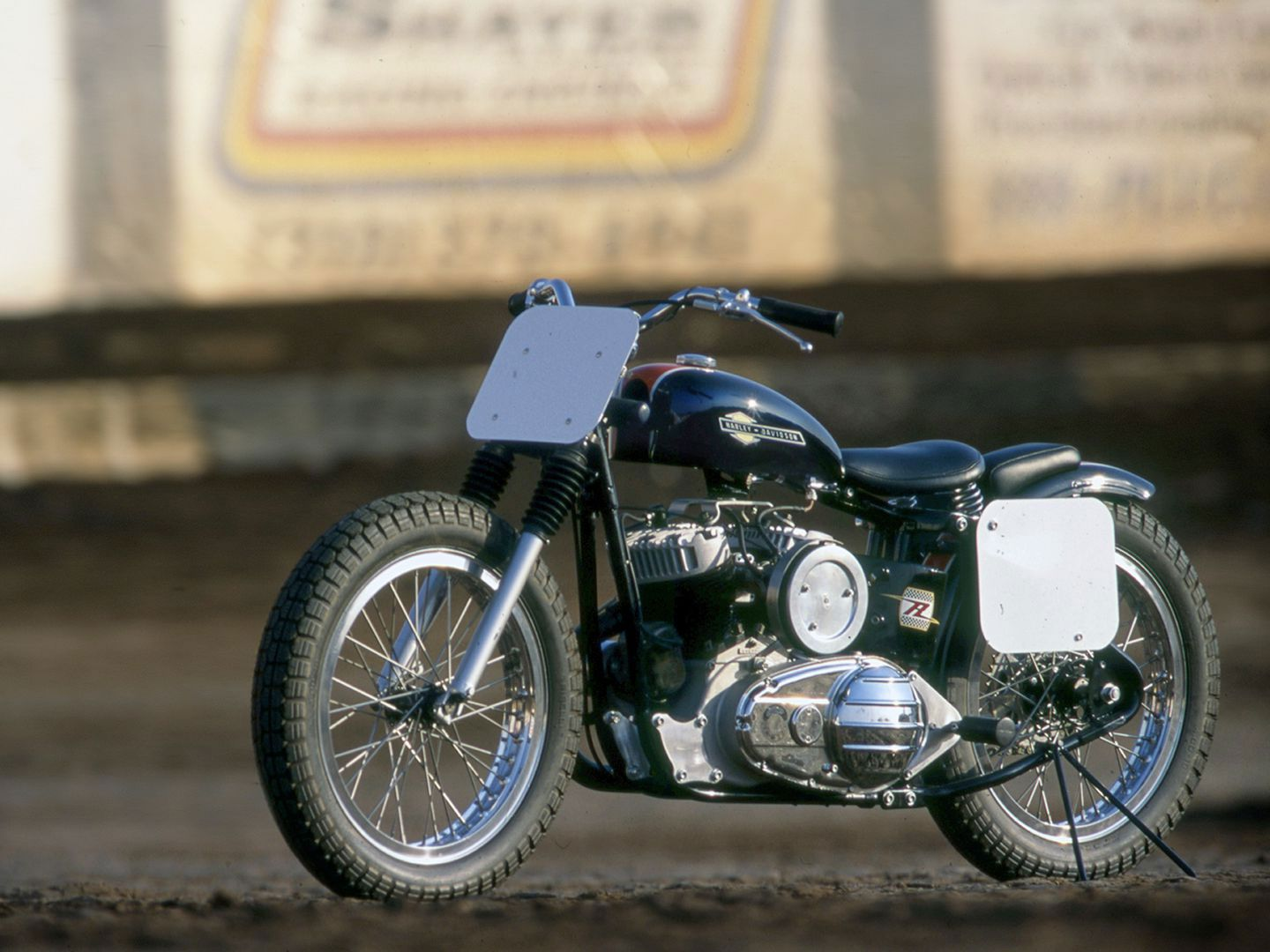 In 1952 Harley-Davidson rolled out the unit-construction K-model (and its KR racer counterpart) to compete with lightweight British machines of the era.