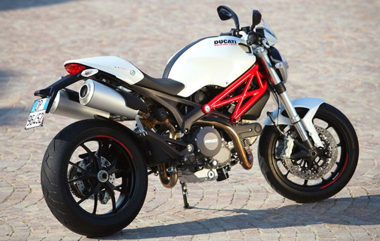 Outstanding 2011 Ducati Monster 796 Review Ducati Monster 796 First Onthecornerstone Fun Painted Chair Ideas Images Onthecornerstoneorg