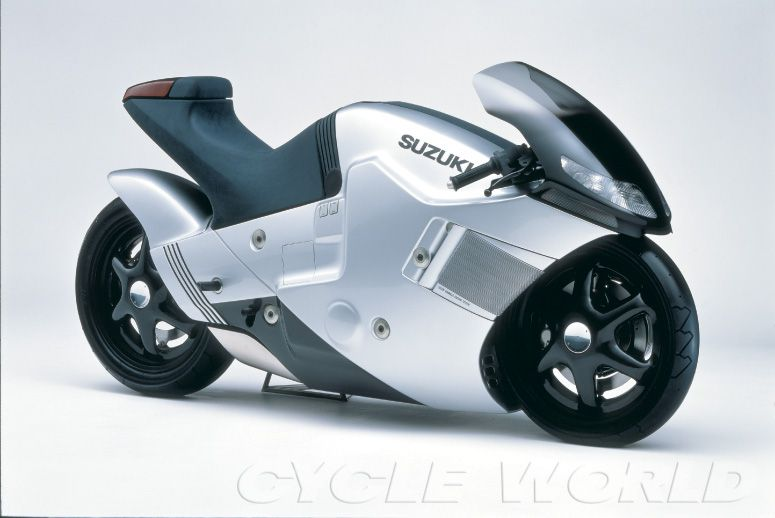 Inspired by earlier success, the Nuda concept followed in 1986 and featured two-wheel shaft drive.