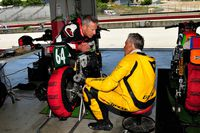 nick ienatsch and carry andrews talking shop in the garage