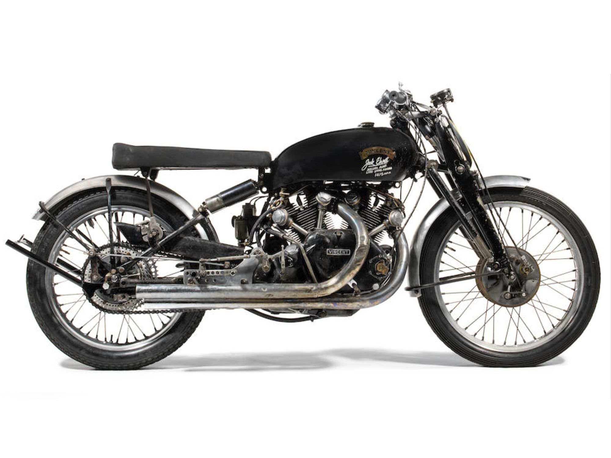 This Vincent tops our list of the world's 15 most expensive motorcycles. How much? Read on.