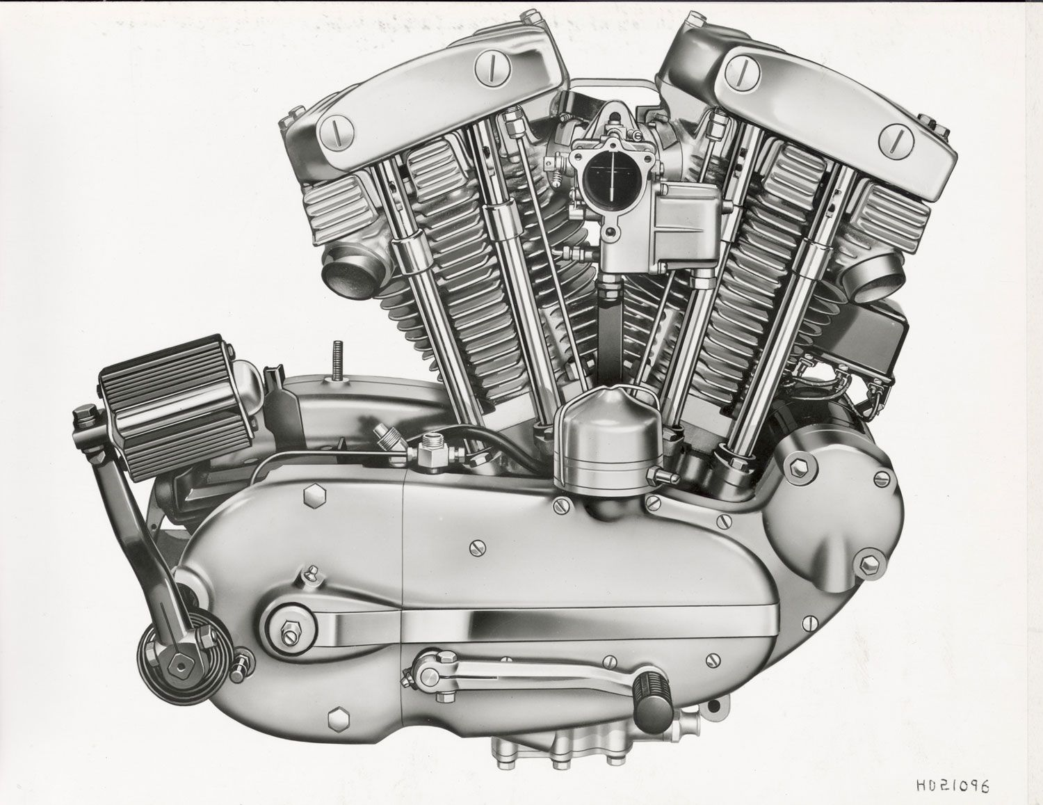 The Ironhead Sportster engine was replaced by the Evo motor in Sportsters beginning in 1986.