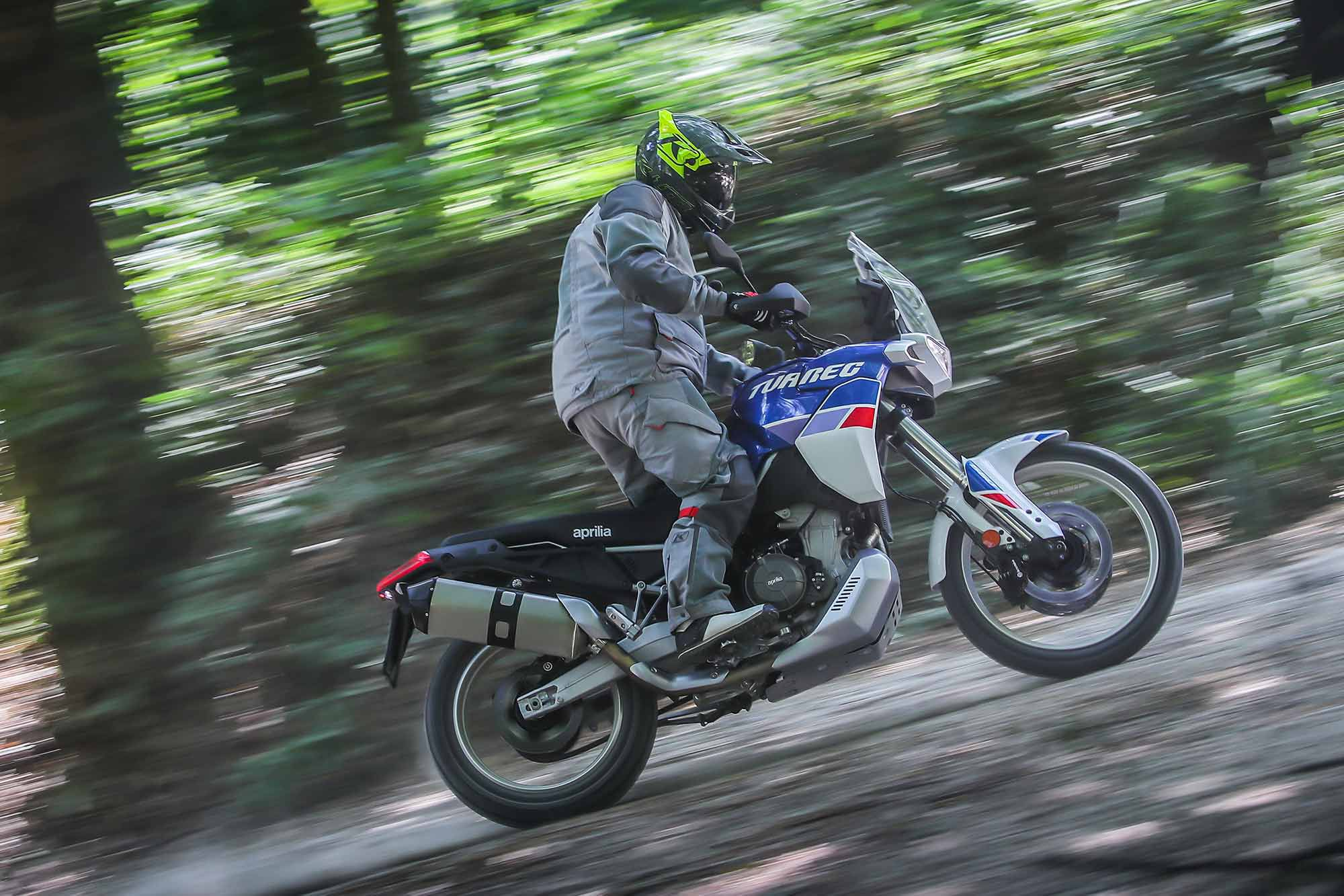 We are looking forward to a ride on the production Aprilia Tuareg later this year.