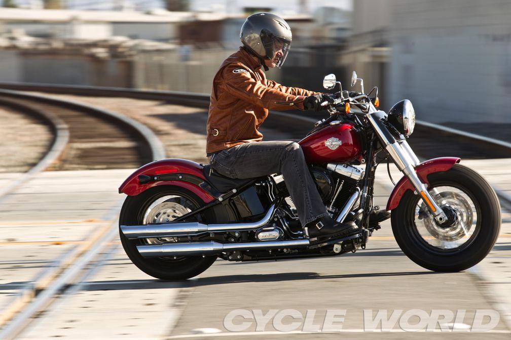 2012 Harley-Davidson FLS Softail Slim Road Test Review- Specs