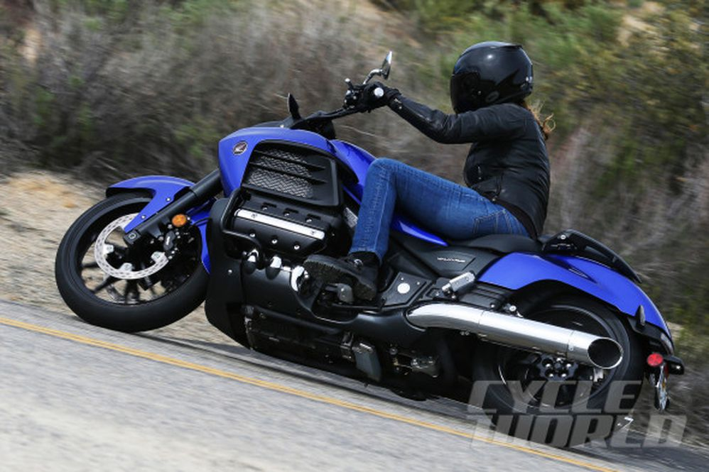 2014 Honda Gold Wing Valkyrie- First Ride Review- Photos