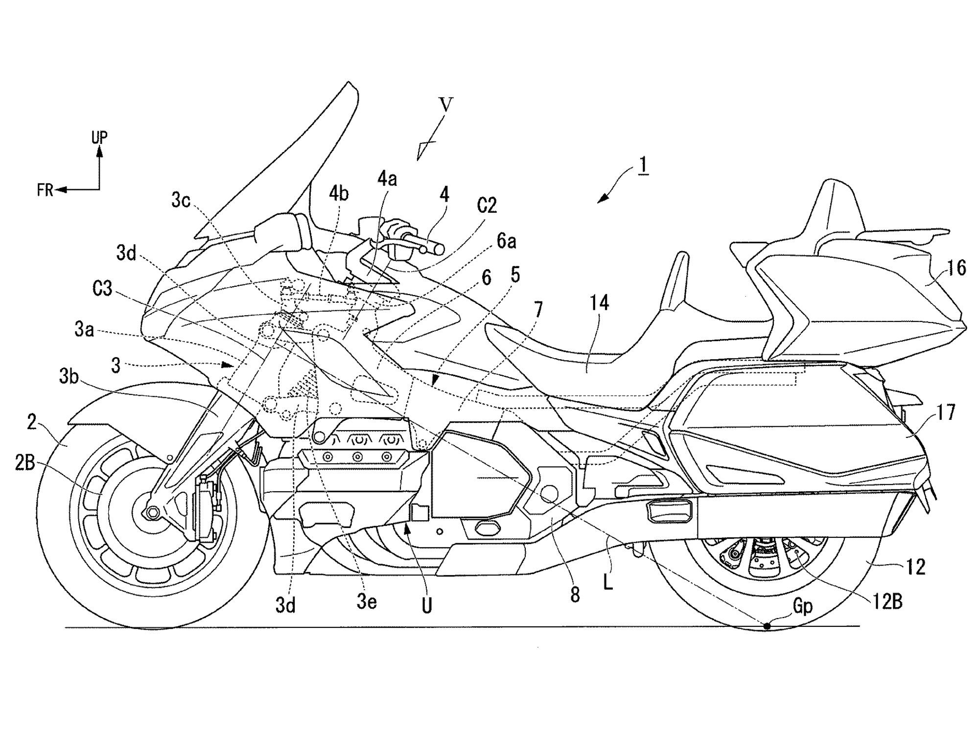 Honda Is Developing a Steering Assist System for Bikes