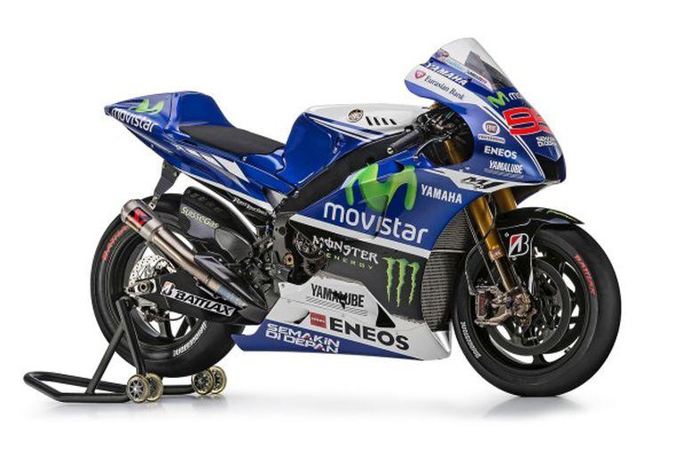 Movistar Yamaha Motogp Take The Covers Off To Kick Start The 2014 Season Cycle World