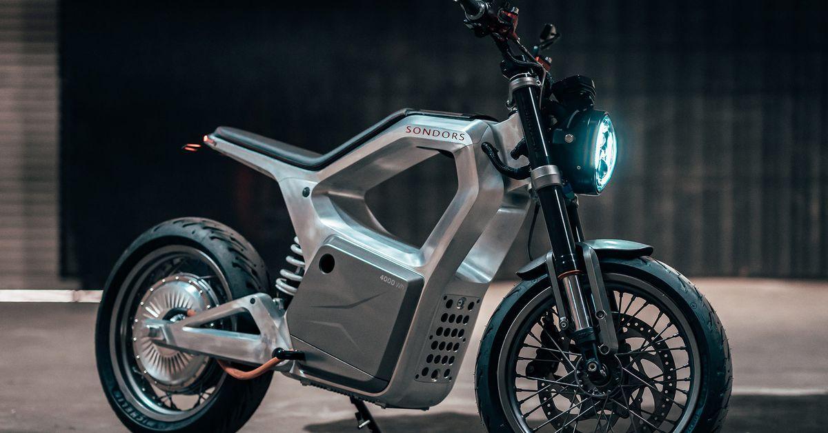 Первый взгляд: первый электрический мотоцикл Sondors