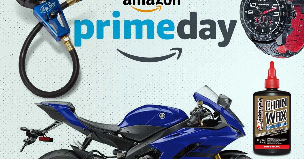 Amazon Prime Day Is Here—Lightning Deals On Sportbike Gear And Accessories