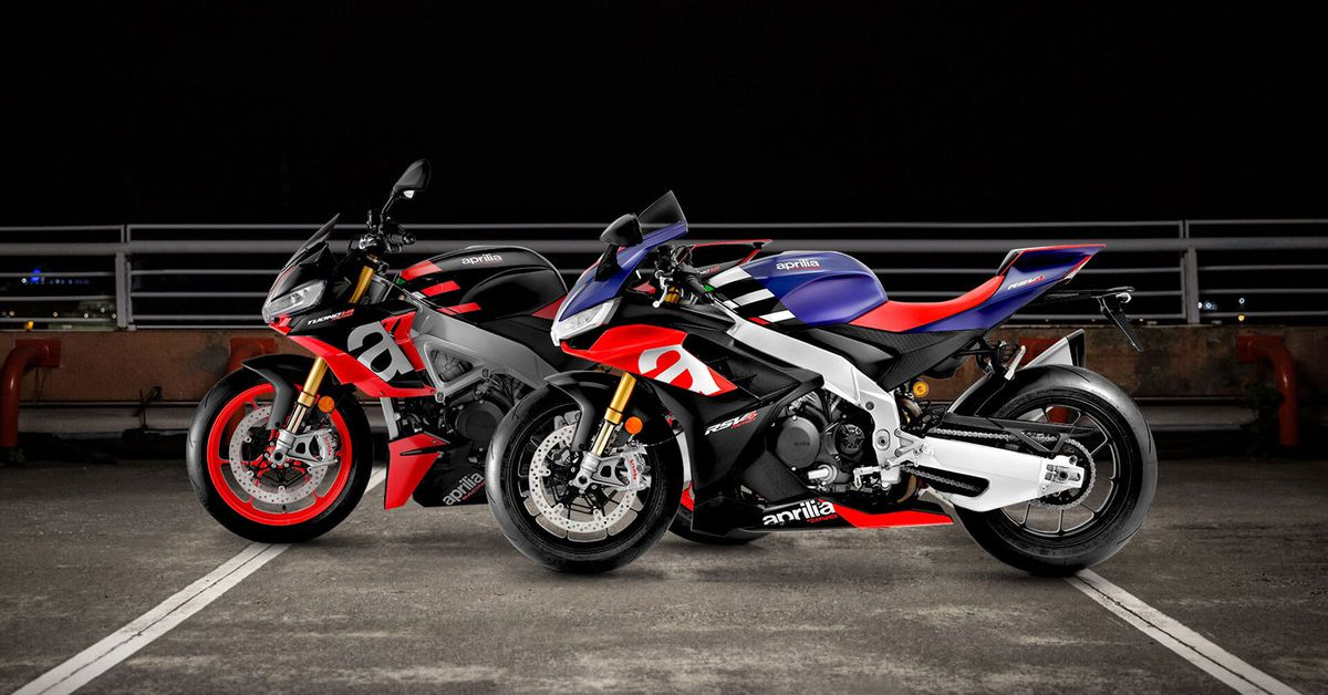 2021 Aprilia Rsv4 And Tuono V4 First Look Cycle World