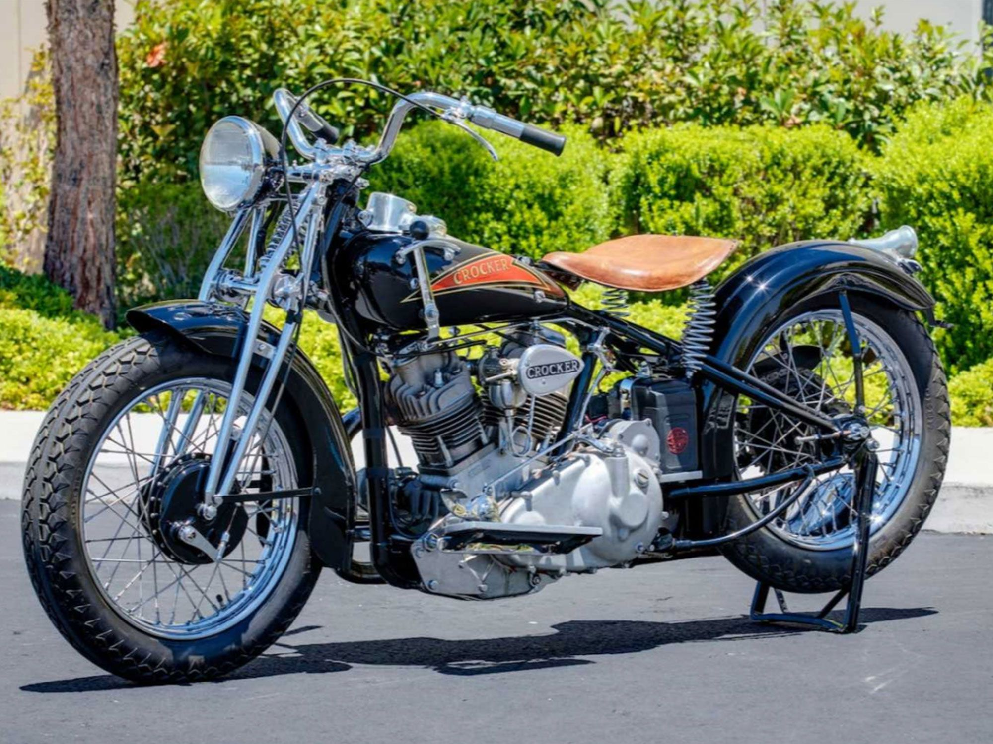 4. Yes, another $715,000 bike, this Crocker making a tie for fourth on this remarkable list.