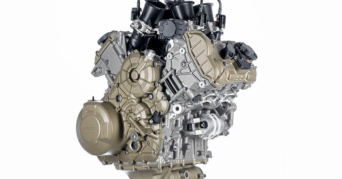 2021 Ducati Multistrada V4 Engine Details