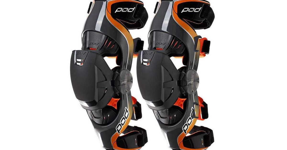 Knee Protection For Off-Road Motorcycle Riders