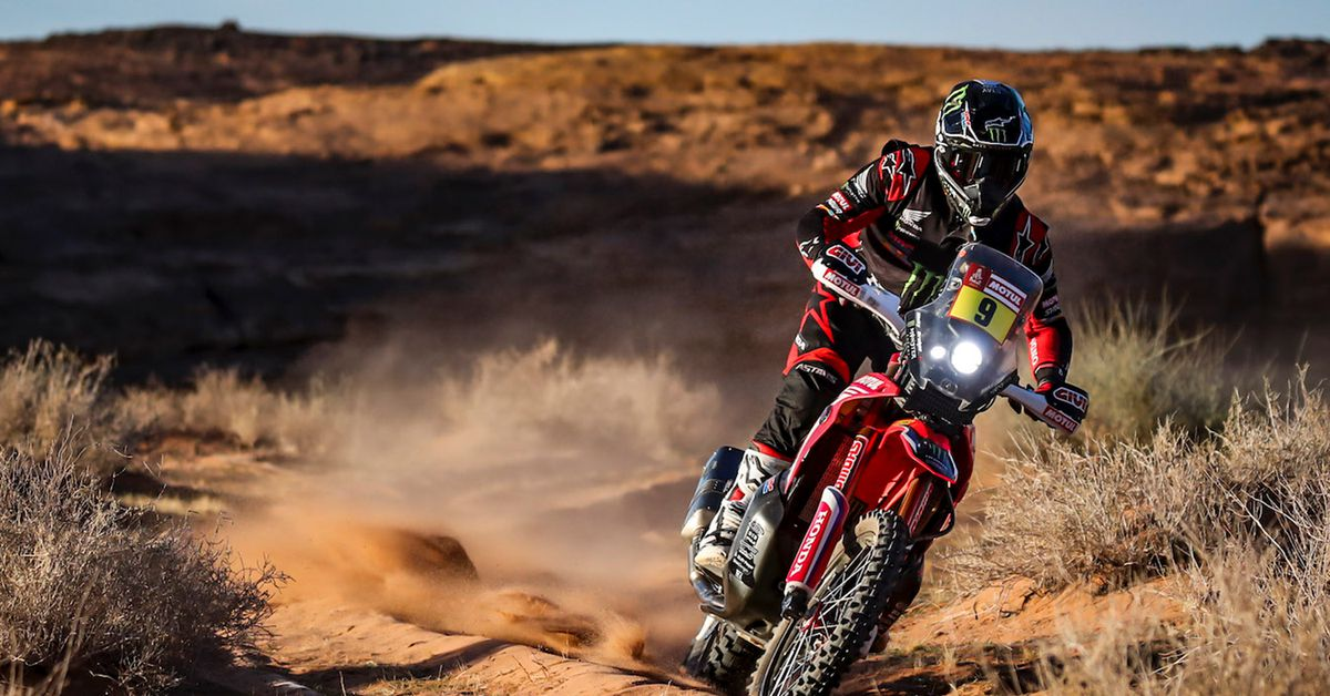 American Ricky Brabec Is On The Road To Dakar Olympus