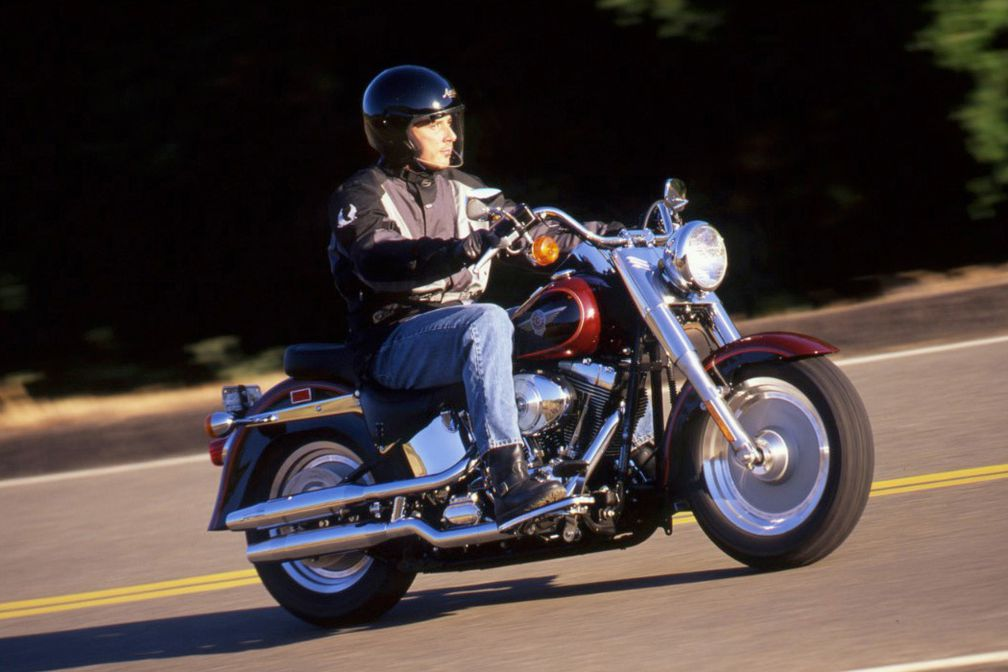 2000 harley-davidson fat boy review