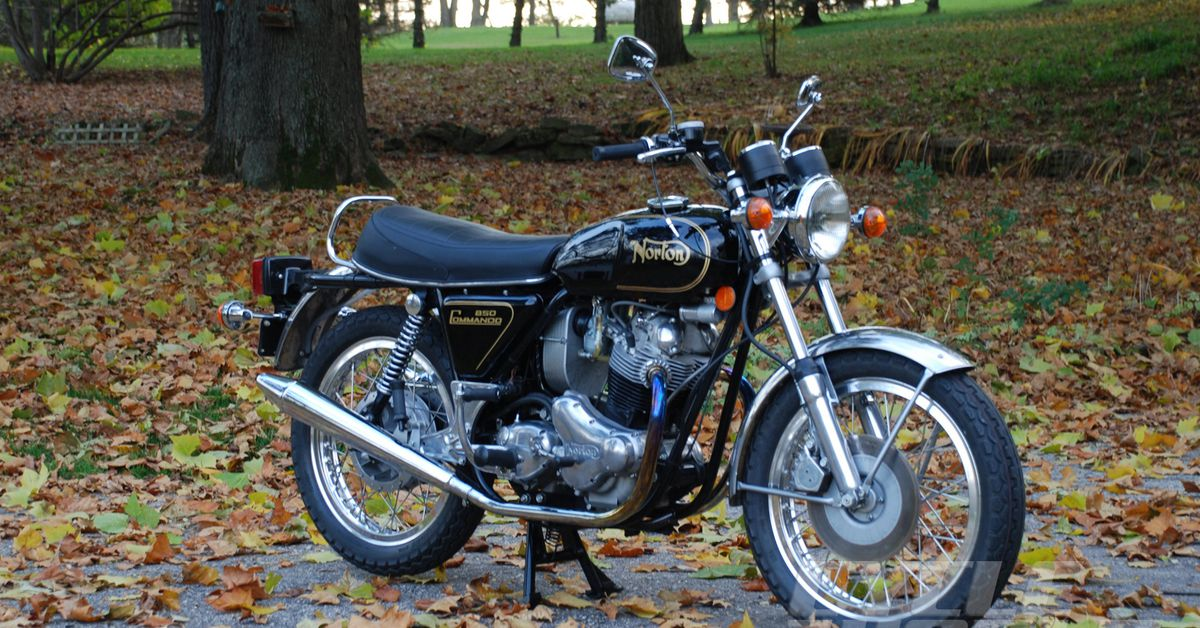 Norton 850 Commando New Life For An Old Britbike Cycle World