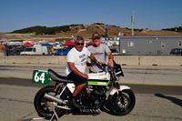 alberto gonzalez jr. and nick ienatsch with chris carr gpz racebike
