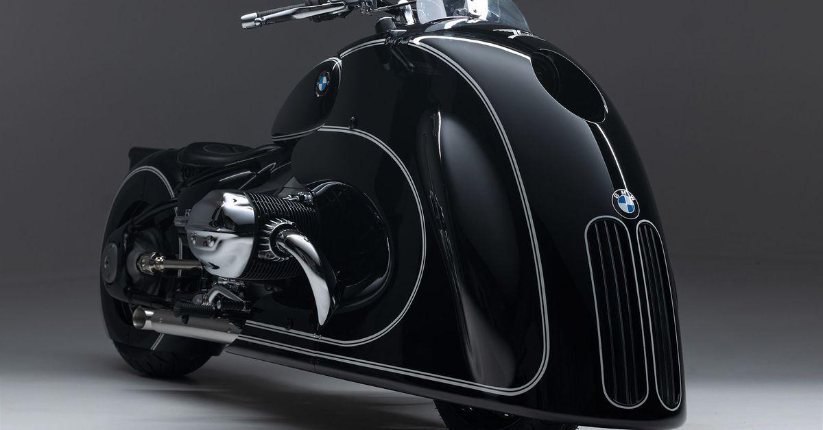 Сладострастный BMW R 18 Custom от Kingston Custom