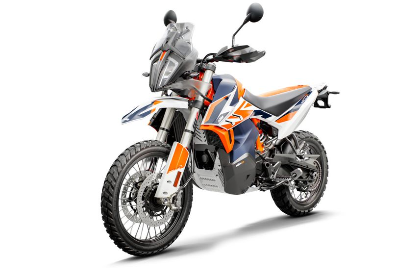 790 Adventure R Rally front left