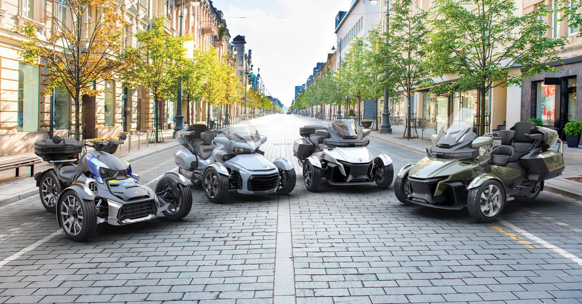 2021 Can-Am On-Road Lineup First Look