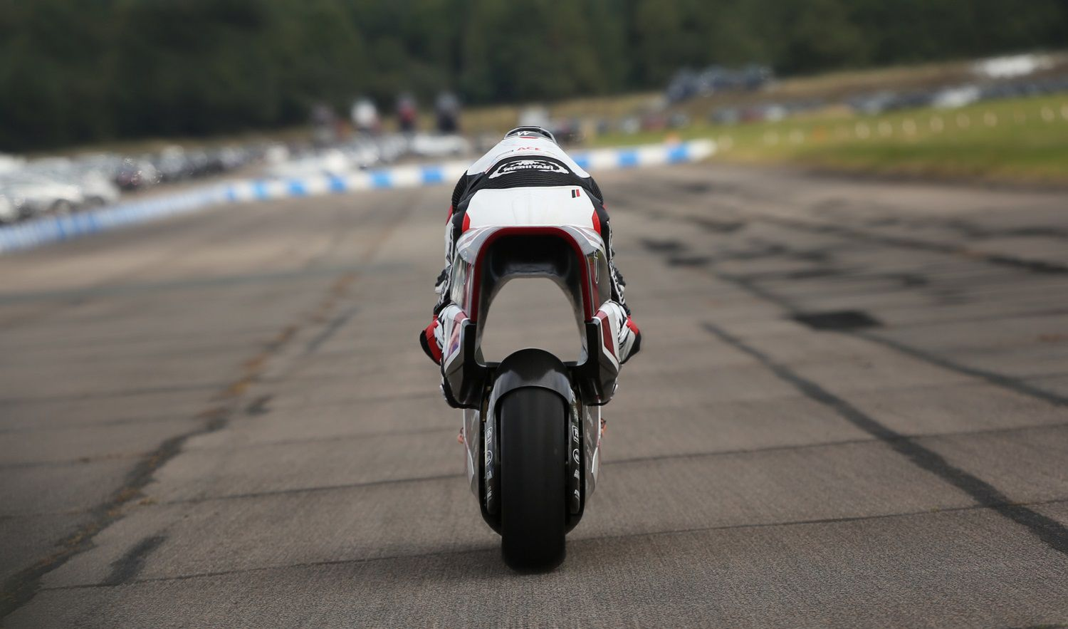 The bike's run at a world land speed record will likely come in 2022.