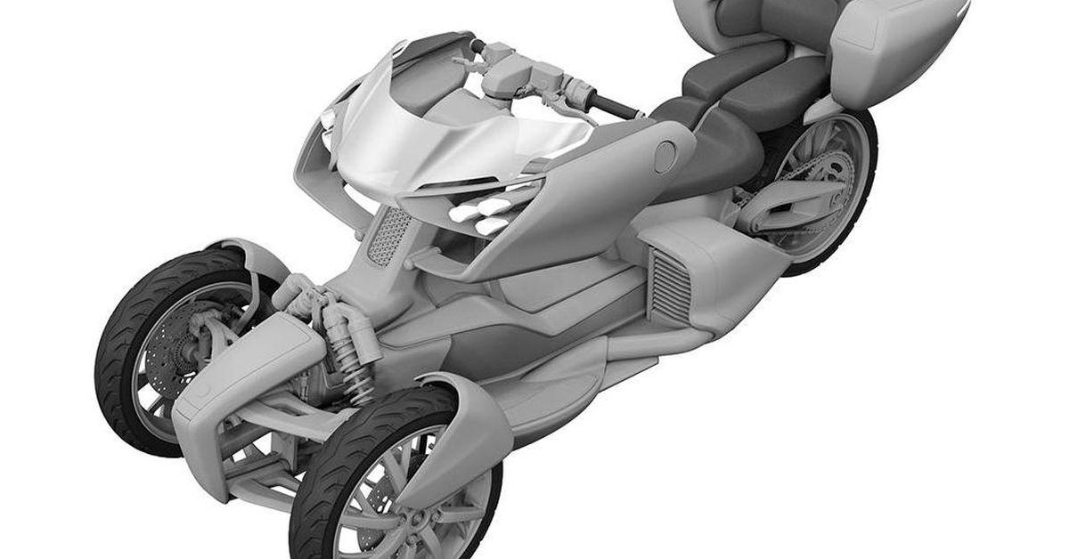 Yamaha Leaning-Trike Design Revealed