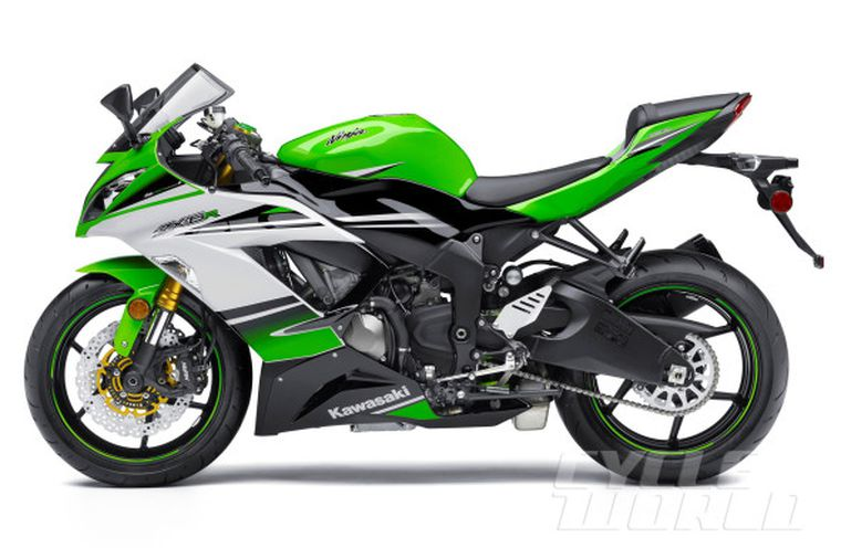 2015 Kawasaki Ninja Zx 6r 30th Anniversary First Look