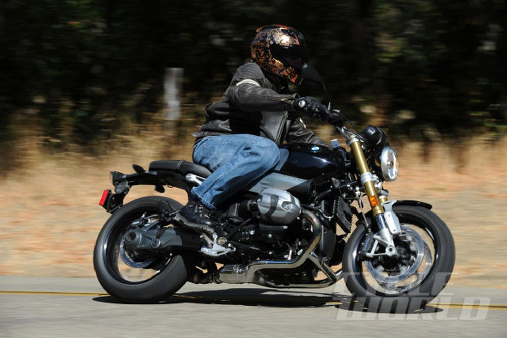 2014 BMW R nineT First Ride Motorcycle Review & Price