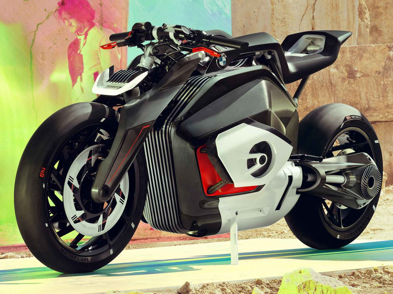 Schramm says BMW may have an electric motorcycle in five years for urban environments. He is unsure about the viability of off-road and sport models.