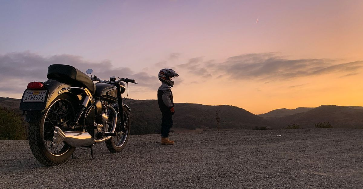In Balance: Motorcycling Is A Better Life