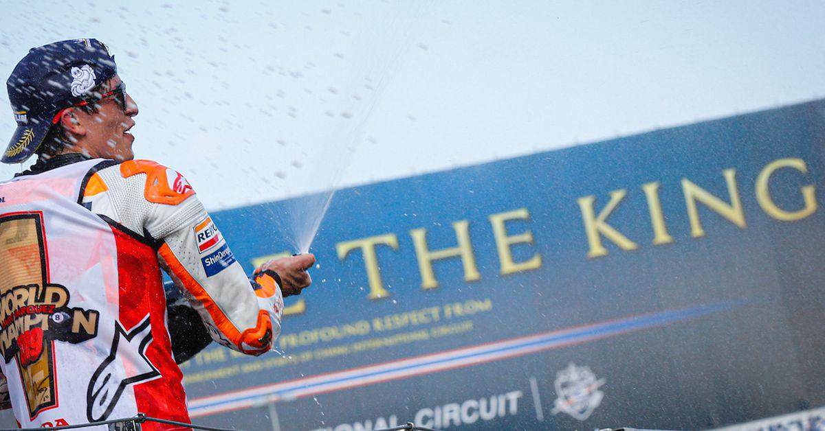 Márquez Beats Quartararo In Thailand And Wins MotoGP Title