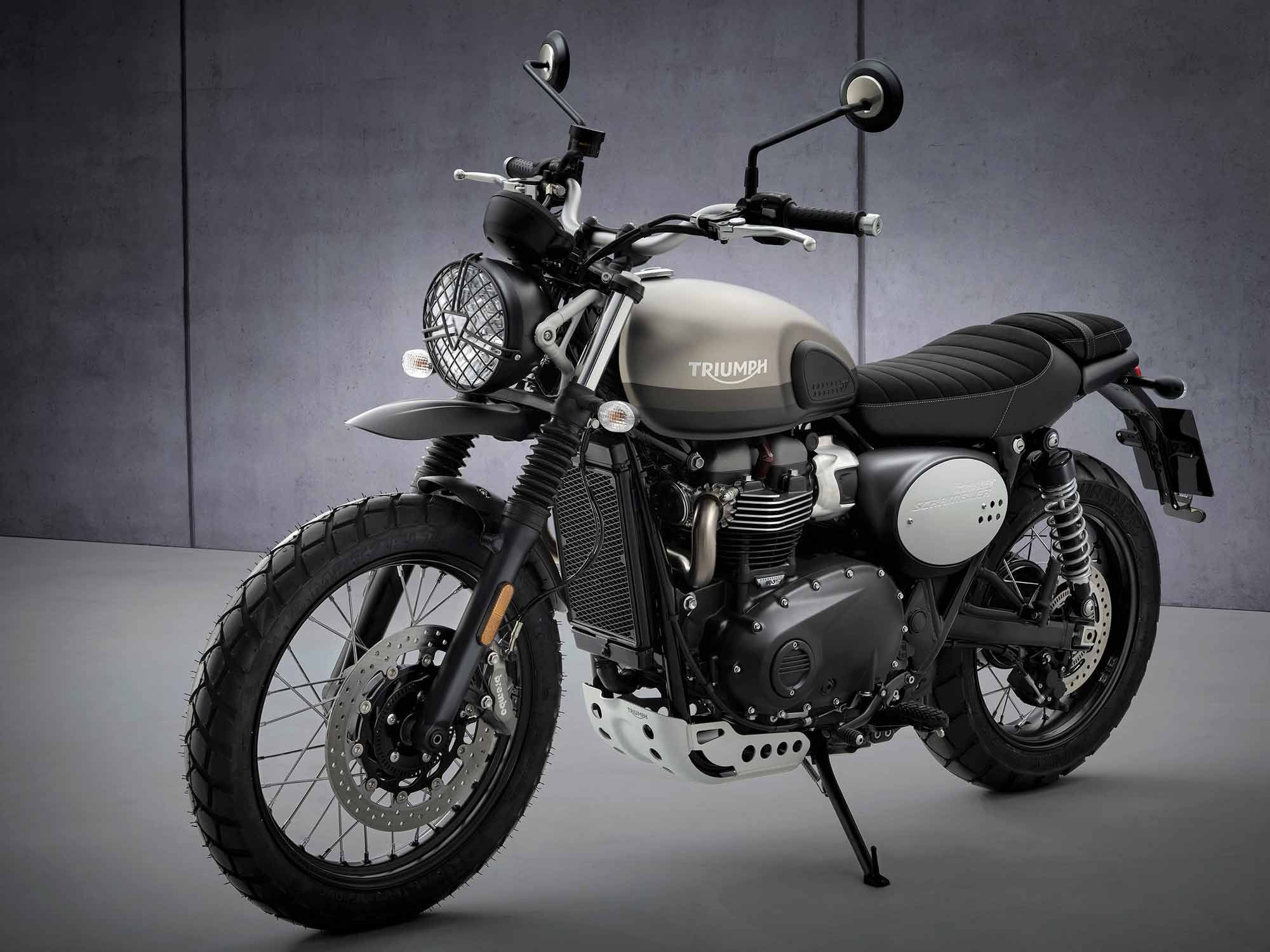 2022 Triumph Street Scrambler and Scrambler Sandstorm First Look