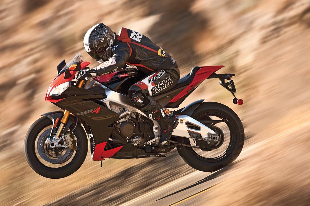 Aprilia Rsv4 Factory Sportbike Motorcycle Review Road Test Cycle