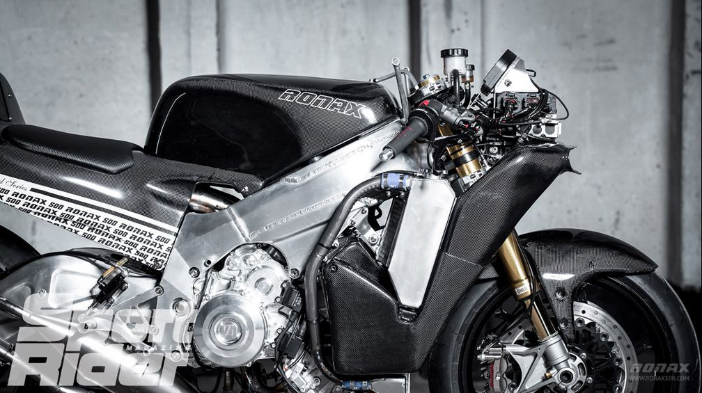 Ronax 500cc V-four two-stroke trackday/streetbike? | Cycle World