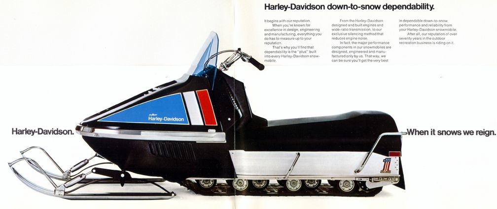 Bet You Didn't Know Harley-Davidson Once Sold Snowmobiles | Cycle World