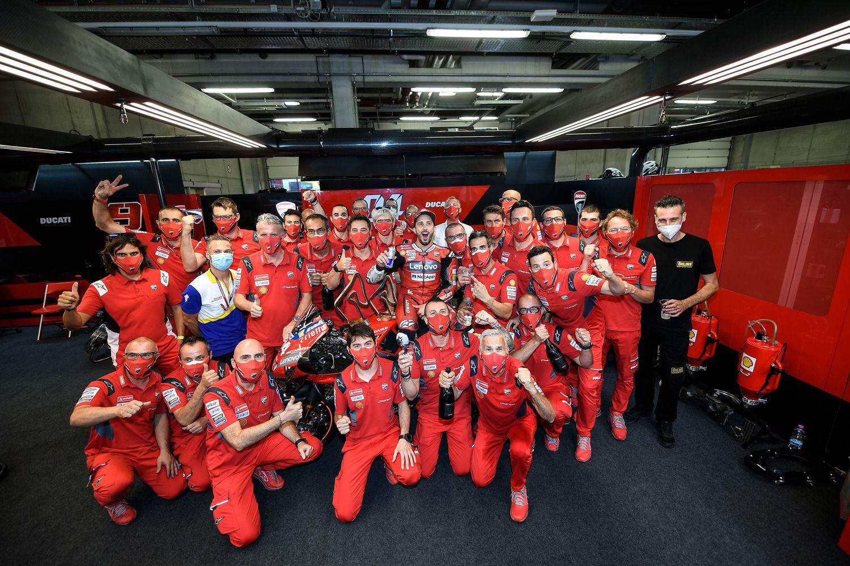 Dovizioso says he has no regrets regarding his time at Ducati.