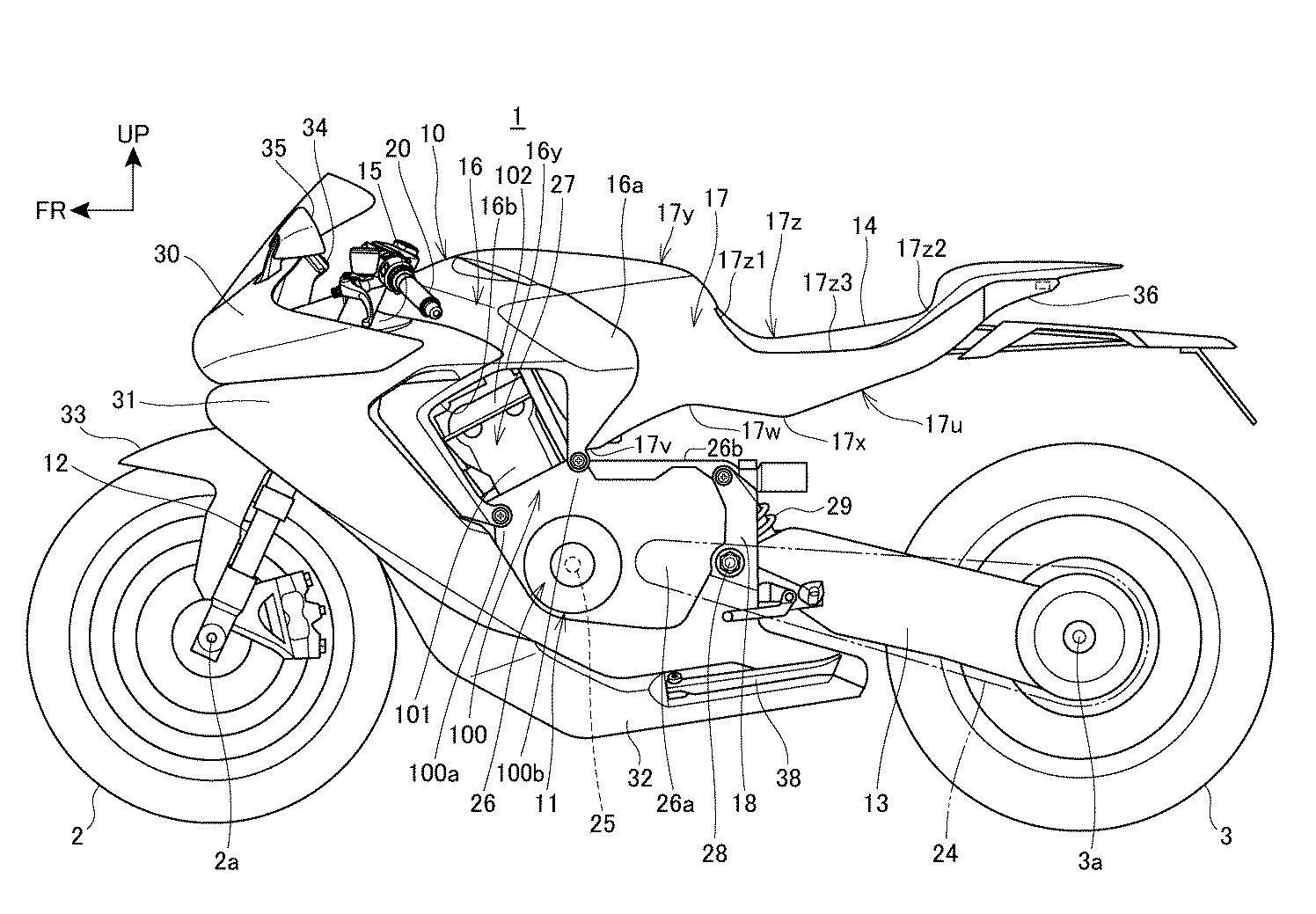 Honda Patent Reveals Radical Superbike Plans