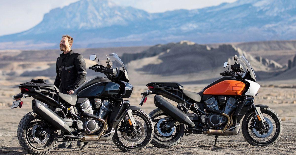 Harley-Davidson's Pan America 1250, два варианта