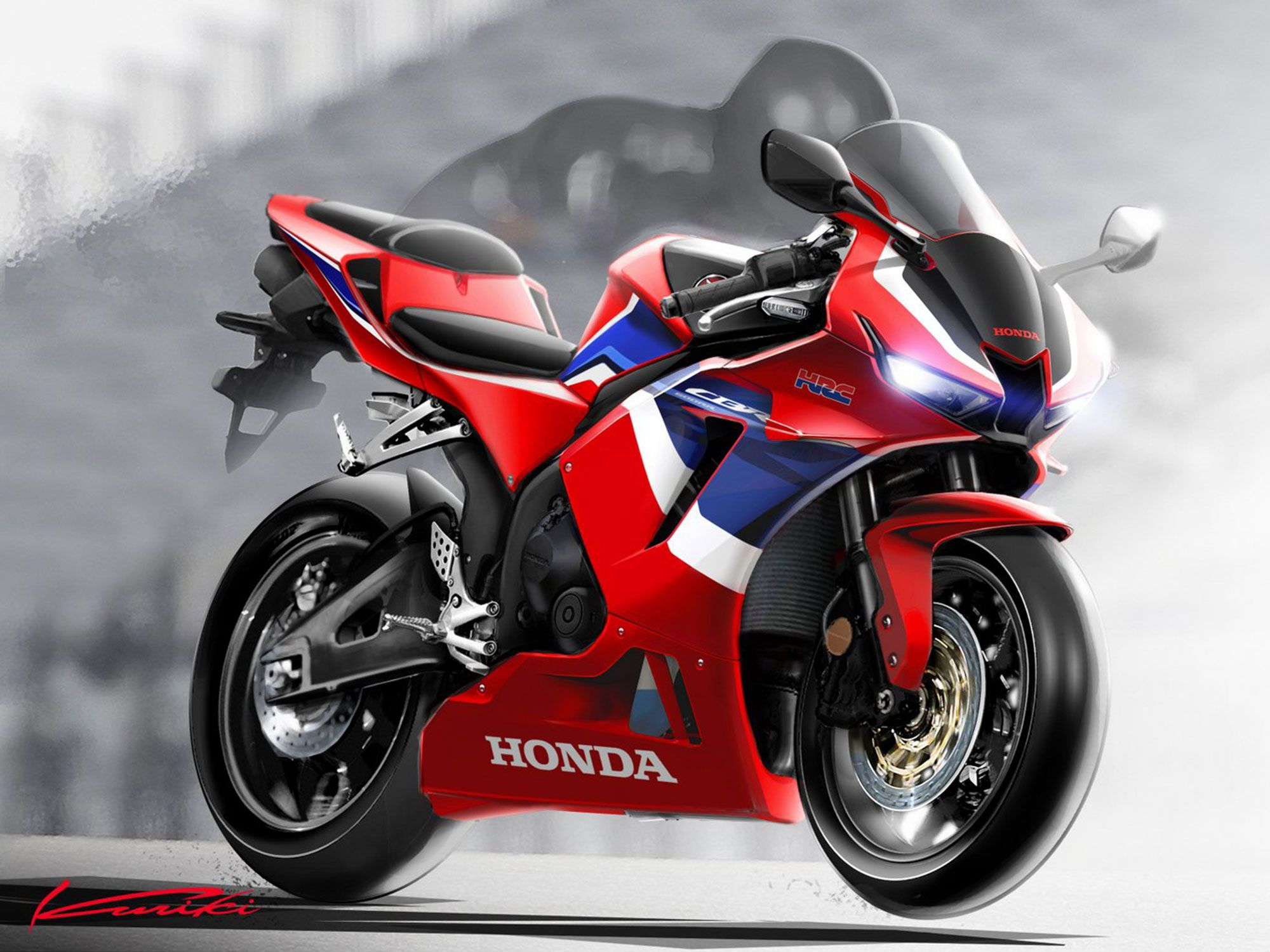 For the time being, the 2021 CBR600RR is only being offered in Asian markets.