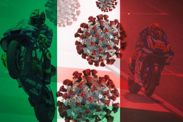 Italian Motogp Stars Cope With Lockdown Cycle World