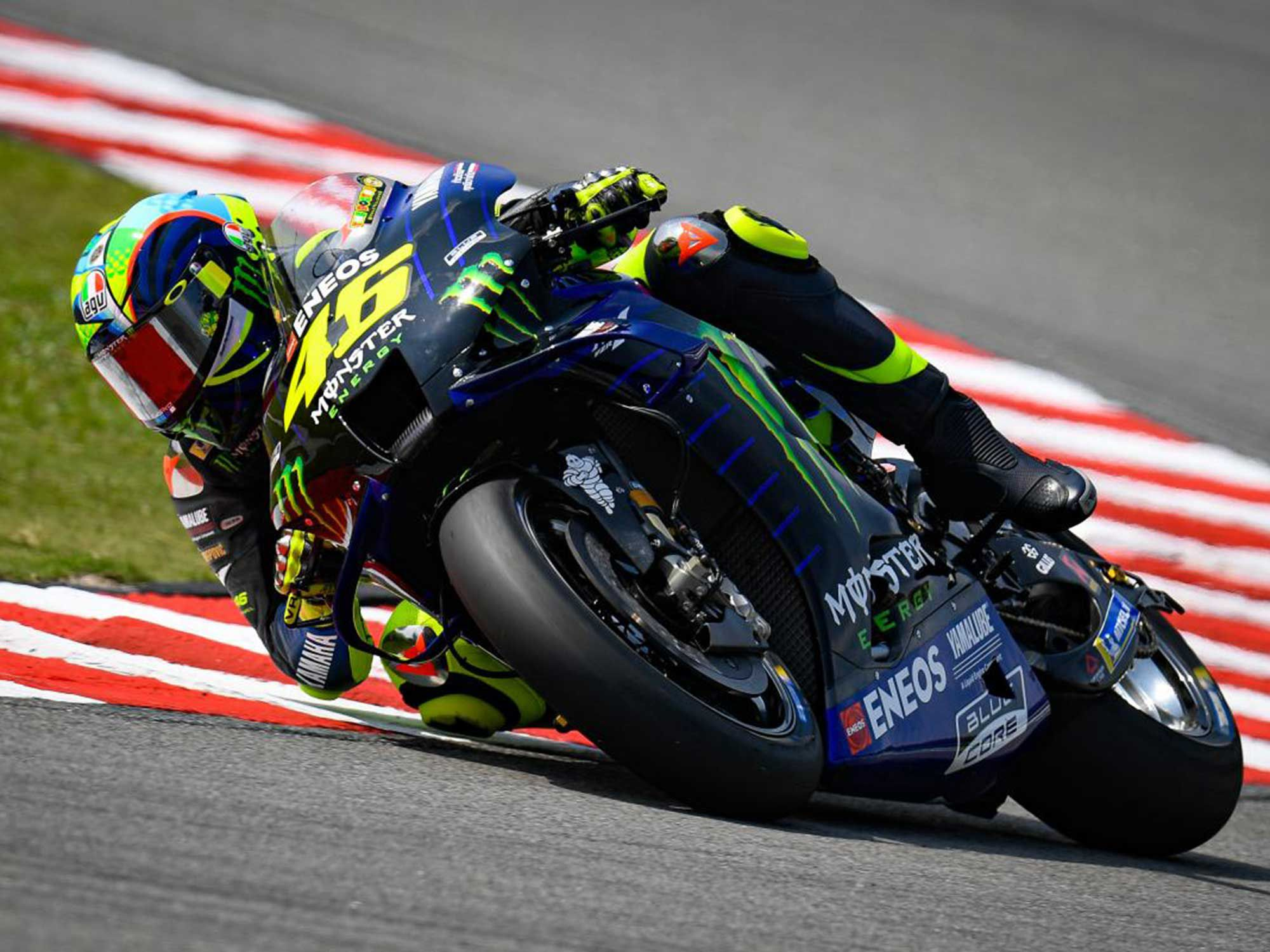Rossi requested chassis, suspension, and electronics changes to better address rear tire degradation.