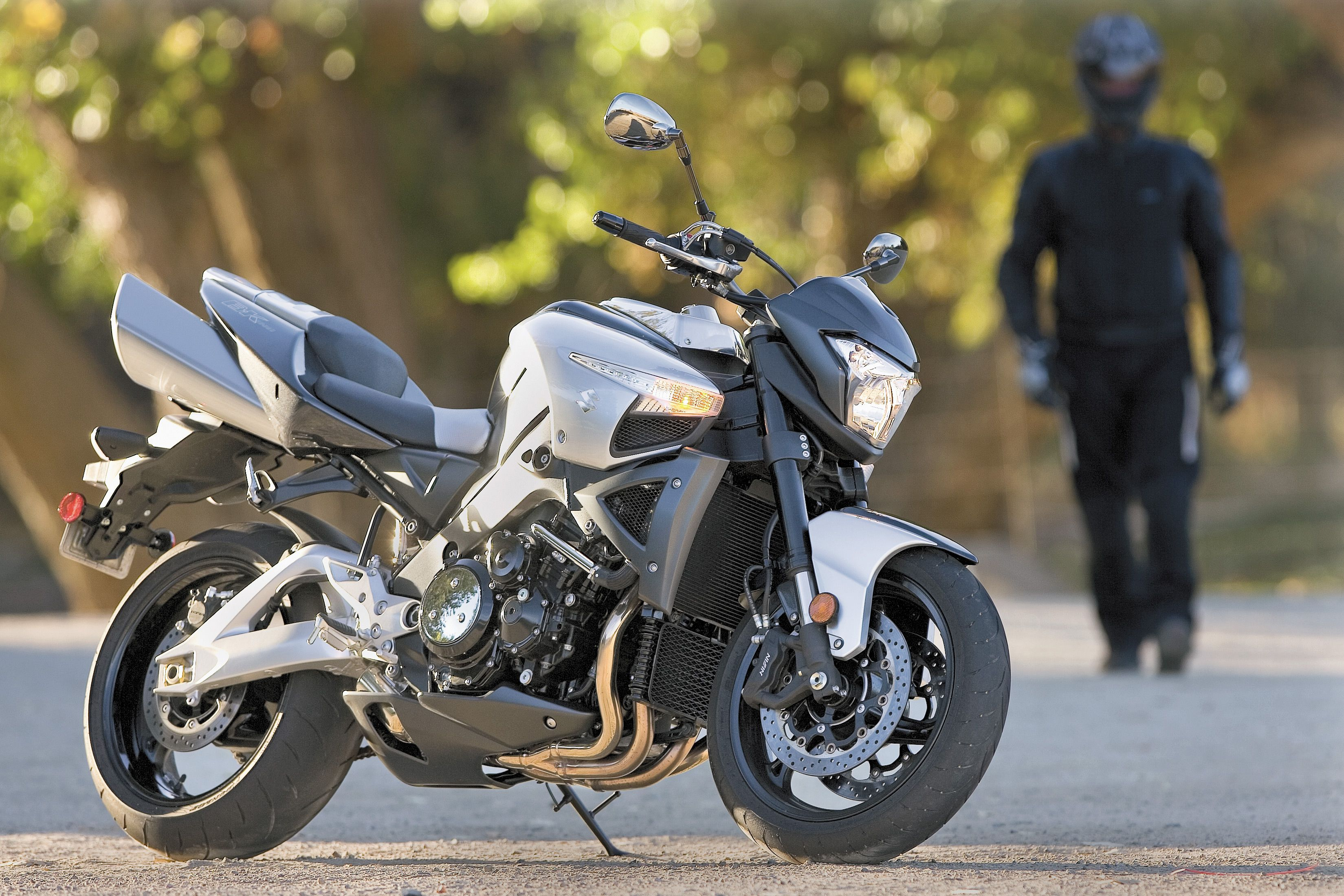 Still pretty outlandish, the B-King had a Hayabusa engine in an anime-inspired naked bike.