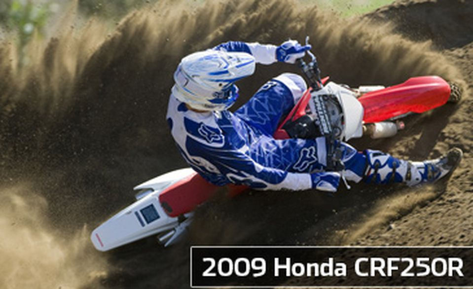Riding Impression: 2009 Honda CRF250R   Cycle World